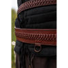 Laced Leather LARP Sword Belt
