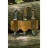 Rogue LARP Knife Set and Holder