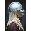 Raven Helmet - Polished Steel