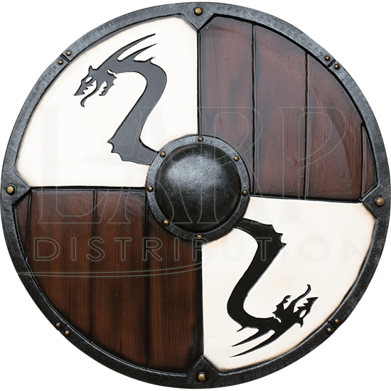 Viking Dragon LARP Shield