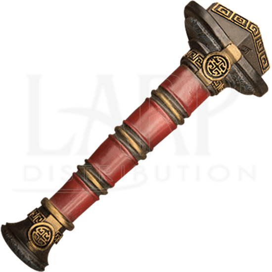 DIY LARP Jian Handle - Painted