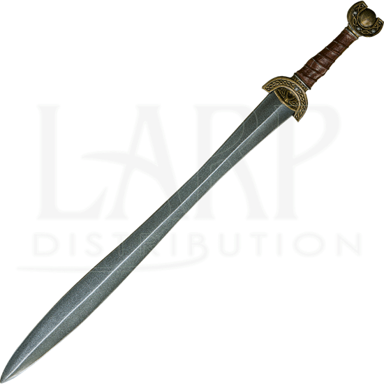 Celtic Leaf Long LARP Sword