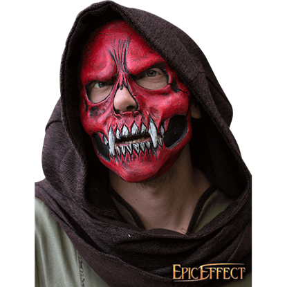 Red Skull Trophy Mask