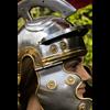 Roman Trooper Helmet with Red Plume