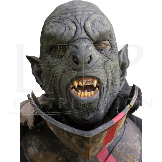 Carnal Green Orc Mask