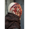 Half Bloody Face Zombie Mask