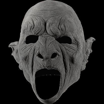 DIY Unpainted Feral Orc Mask