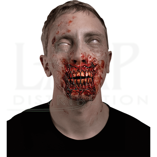 Exposed Zombie Teeth Prosthetic