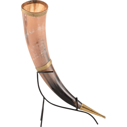 Norman Drinking Horn