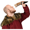 Hammer of Thor Drinking Horn with Stand
