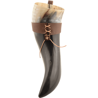 Floki Drinking Horn with Holder