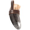 Great Norse Drinking Horn with Leather Holder