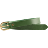 Medieval Leather Buckle Belt - Green