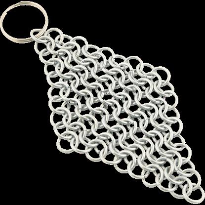 Chainmail Keychain