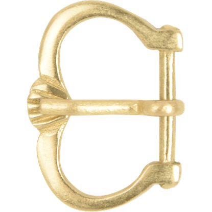 Wide Brass Belt Buckle