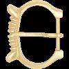 Renaissance Brass Belt Buckle