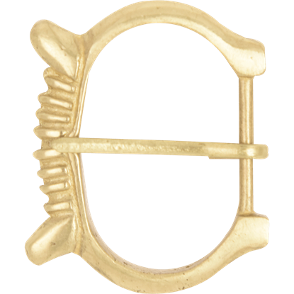 Renaissance Brass Belt Buckle