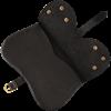 Ornate Medieval Pouch - Black