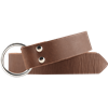 Leather Medieval Ring Belt - Brown