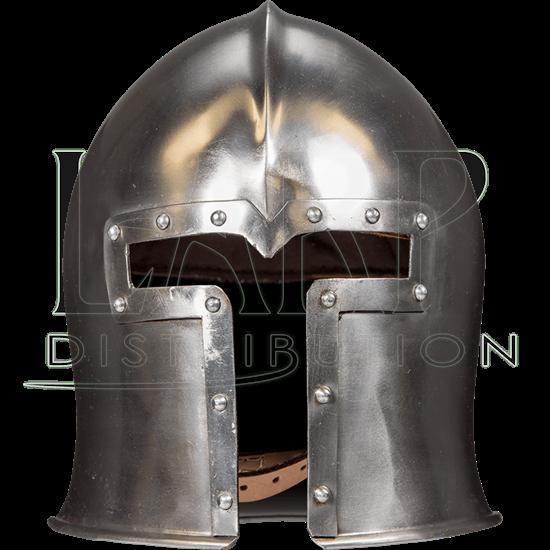 Medieval Barbute Combat Helmet