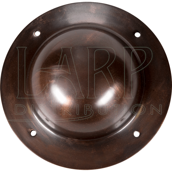Antique Copper Shield Boss