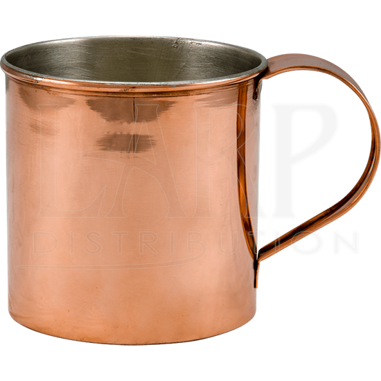 Copper Mug with Tin Lining