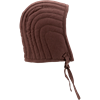 Quilted Arming Cap - Brown