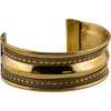 Brass Viking Cuff Bracelet - Medium