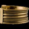 Brass Viking Cuff Bracelet - Small