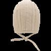Quilted Arming Cap - Ecru