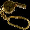 Brass Whistle Keychain