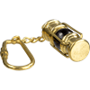 Brass Oil Lamp Keychain