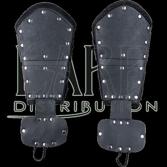 Quintus Leather Bracers - Premium Version