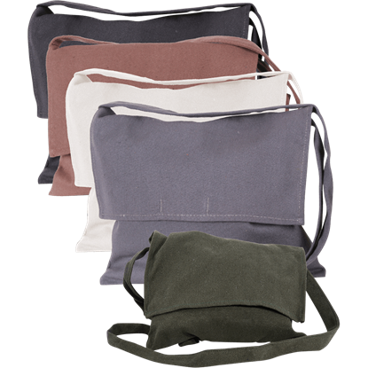 Jonas Canvas Shoulder Bag
