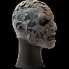 Unpainted Half Face Zombie Mask