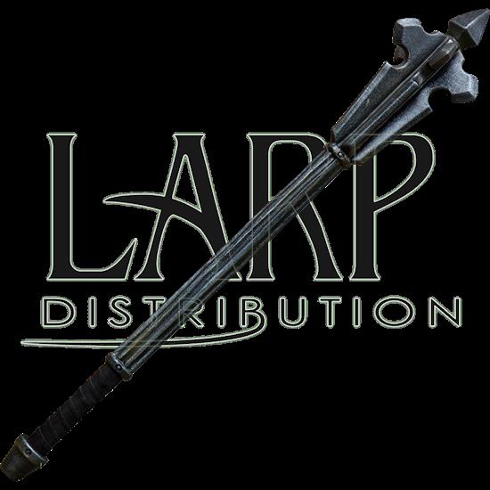 Steel LARP Mace