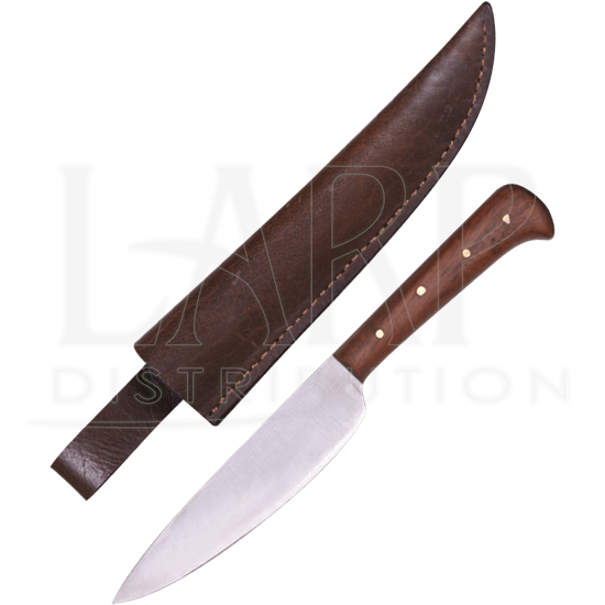 Farmers Knife with Leather Sheath