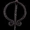 Viking Forged Penannular Brooch