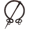 Twisted Vine Penannular Brooch