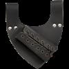 Angled Medieval Sword Frog - Black