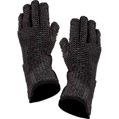 Riveted Chainmail Gloves