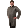 Flat Ring Round Riveted Chainmail Hauberk