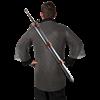 Medieval Back Baldric - Brown