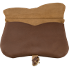 Leather Medieval Kidney Pouch - Brown