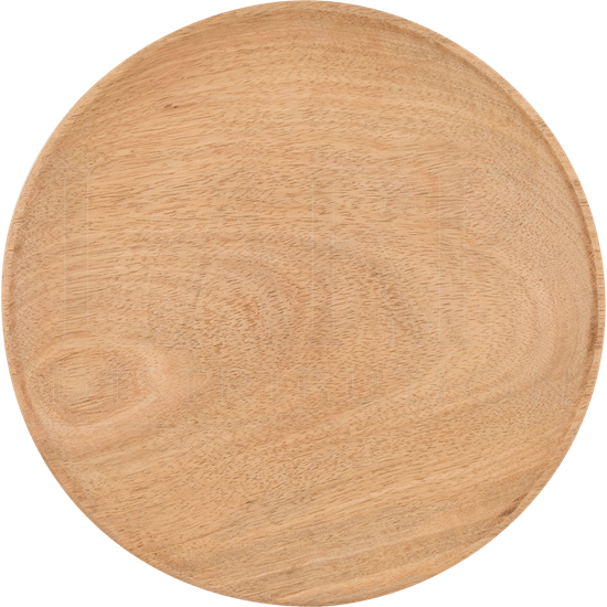 Wooden Medieval Feasting Plate