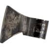 Forged Viking Axe Head