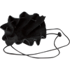 Small Leather Coin Purse - Black