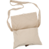 Medieval Canvas Shoulder Bag - Ecru