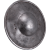 Natural Finish Steel Buckler - Medium