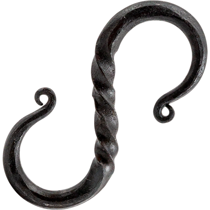 Twisted Medieval S Hook